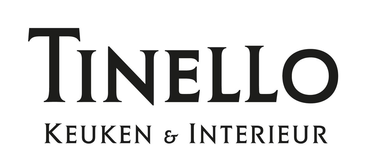Tinello Logo Orgineel ZW